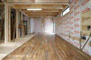 10月22日 外壁・床工事